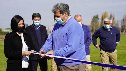 Inauguración del Centro Deportivo Lautaro Valderrama